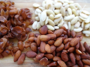 Soaked almonds are a great healthy snack to have in your fridge.
