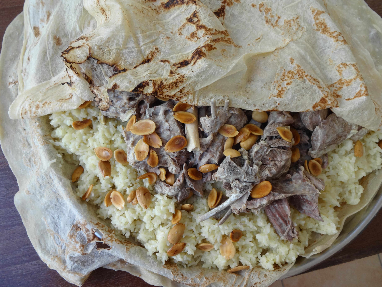 Jordanian Food Mansaf